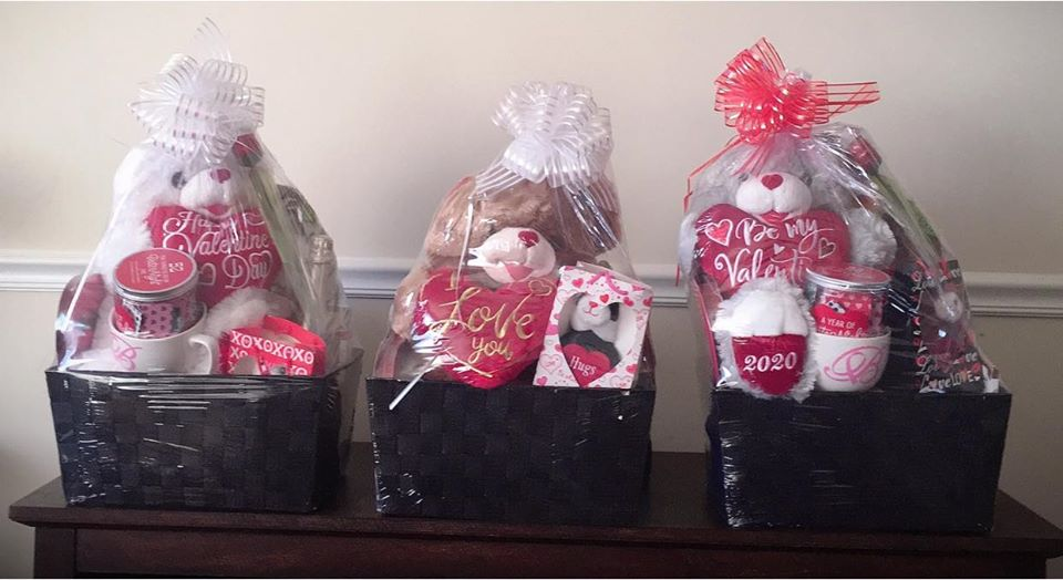 Valentine's Day Baskets Raffle
